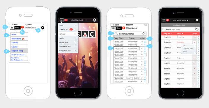 Mobile App Design / UX, UI
