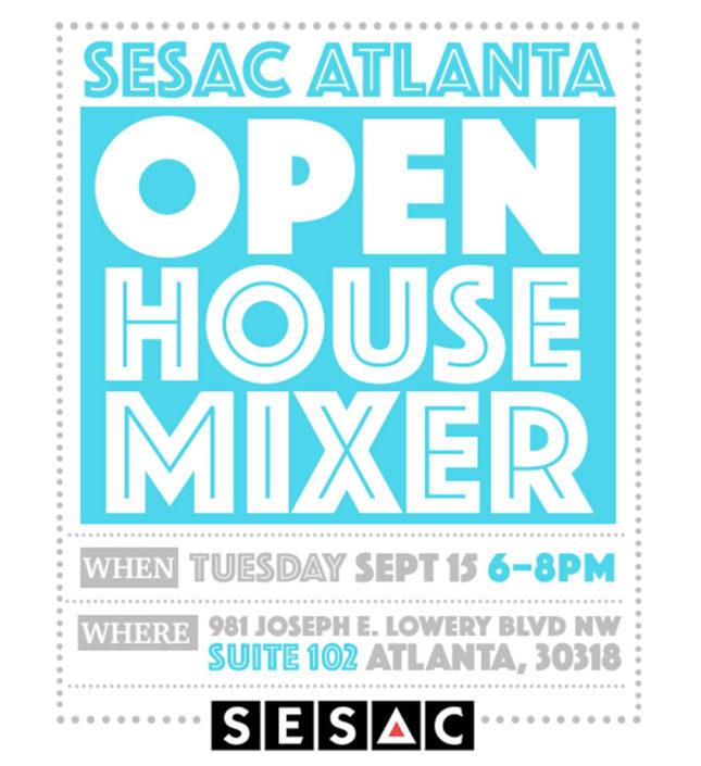 SESAC Invite Design