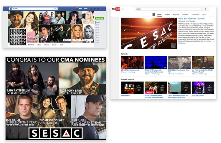 SESAC Social Media Graphics